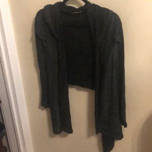 Hollister hooded cardigan size XS/S
